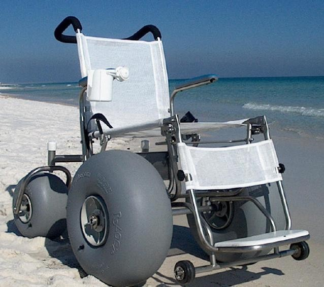 V Beach Wheelchair