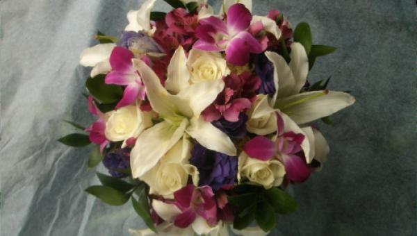 Megan's Tropical Bouquet