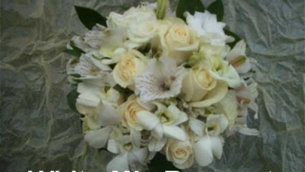 White Mix Bouquet